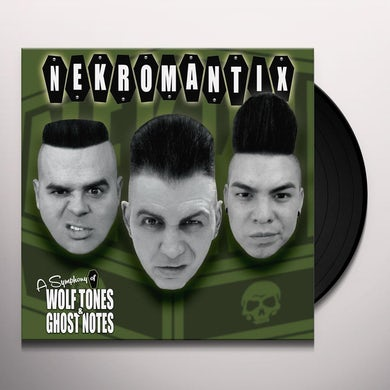 Nekromantix SYMPHONY OF WOLF TONES & GHOST NOTES Vinyl Record
