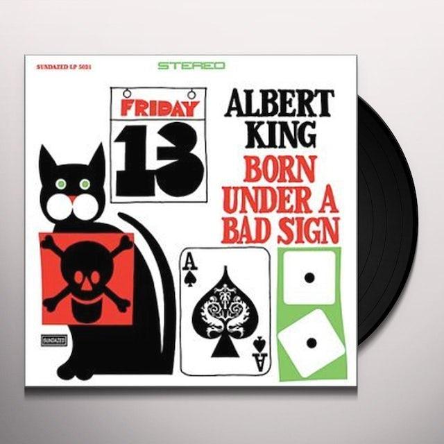 Albert King BORN UNDER A BAD SIGN Vinyl Record