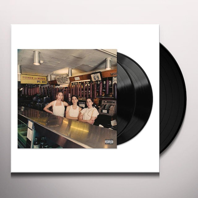Haim WOMEN IN MUSIC PT III Vinyl Record