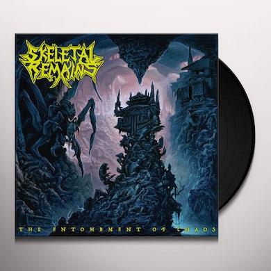 Skeletal Remains ENTOMBMENT OF CHAOS Vinyl Record