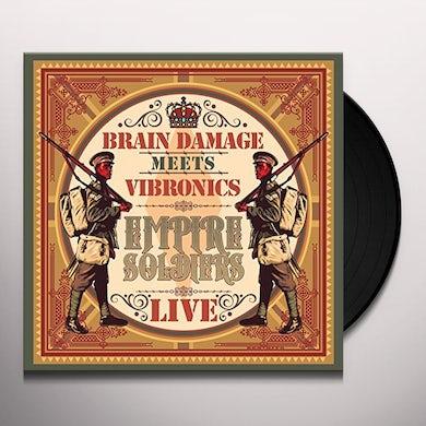 Brain Damage EMPIRE SOLDIERS LIVE Vinyl Record