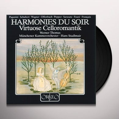 Schubert / Wagner / Werner VIRTUOSE CELLOROMANTIK Vinyl Record