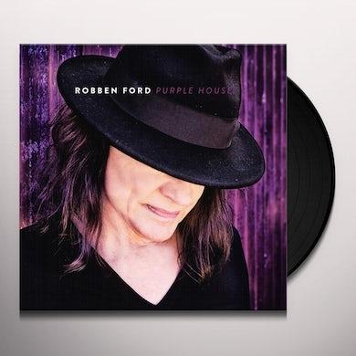 Robben Ford PURPLE HOUSE Vinyl Record