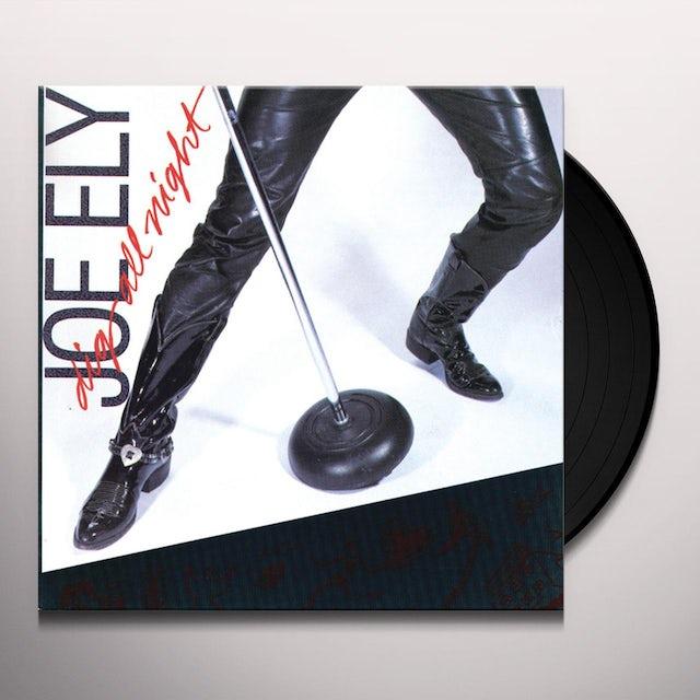 Joe Ely DIG ALL NIGHT Vinyl Record