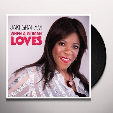 Jaki Graham WHEN A WOMAN LOVES Vinyl Record