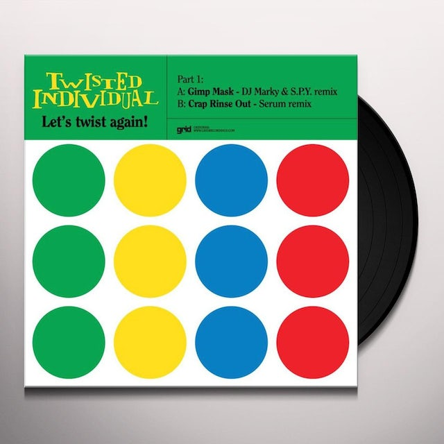 Twisted Individual LETS TWIST AGAIN-PART 1 Vinyl Record