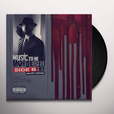 Eminem Music To Be Murdered By - Side B (Deluxe Edition) (Opaque Grey 4 LP) Vinyl Record