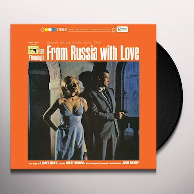 Soundtrack From Russia With(Lp) Vinyl Record