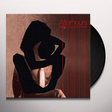 Afterhours BALLATE PER PICCOLE IENE Vinyl Record
