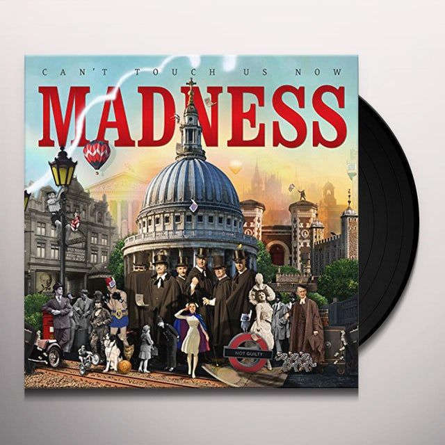 Madness CAN'T TOUCH US NOW Vinyl Record
