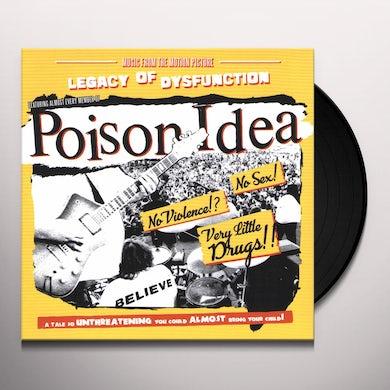 Poison Idea LEGACY OF DISFUNCTION Vinyl Record