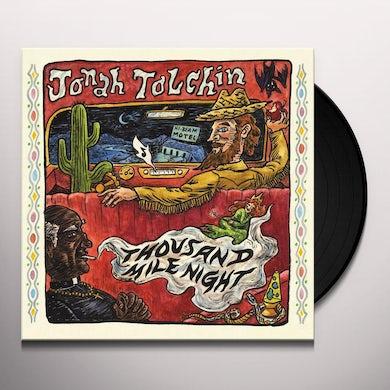 Jonah Tolchin THOUSAND MILE NIGHT Vinyl Record