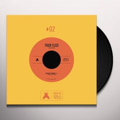 Paolo Ferrara AFROTHEME PERCUSSION BLUES Vinyl Record