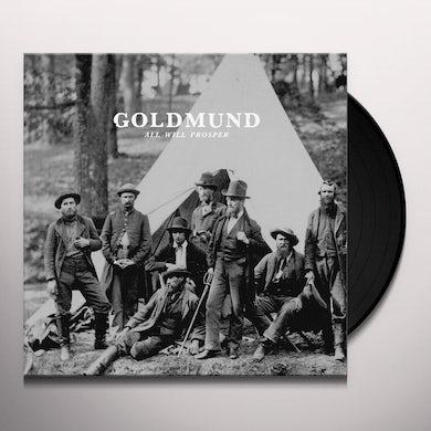 Goldmund ALL WILL PROSPER Vinyl Record