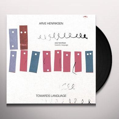 Arve Henriksen TOWARDS LANGUAGE Vinyl Record