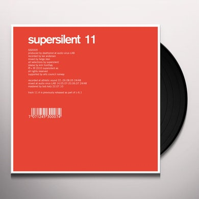 Supersilent 11 Vinyl Record