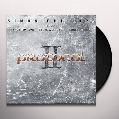 Simon Phillips PROTOCOL II Vinyl Record - UK Release