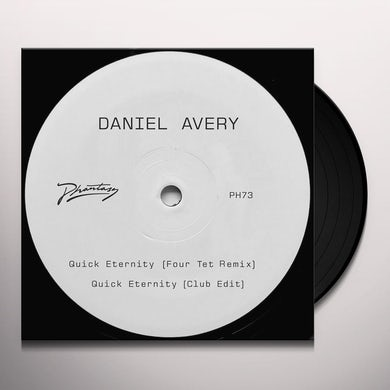 Daniel Avery QUICK ETERNITY (FOUR TET REMIX) Vinyl Record