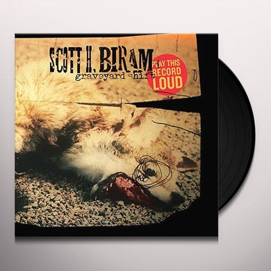 Scott H Biram GRAVEYARD SHIFT Vinyl Record