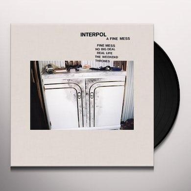 Interpol FINE MESS Vinyl Record