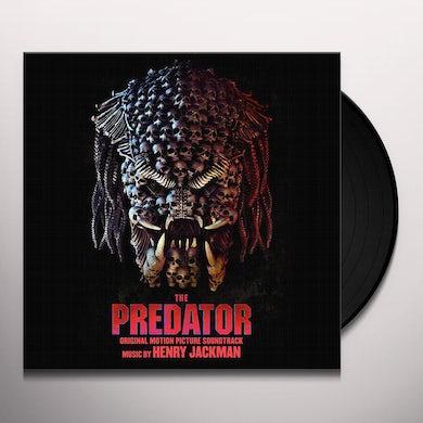 PREDATOR Original Soundtrack (2LP/TRANSPARENT HUNTER GREEN W/BLACK SMOKE) Vinyl Record