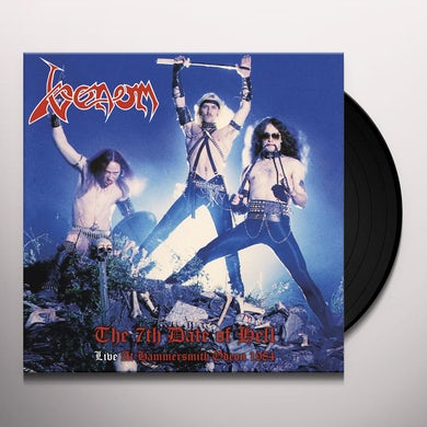 Venom The 7 Th Date Of Hell   Live At Hammersmi Vinyl Record