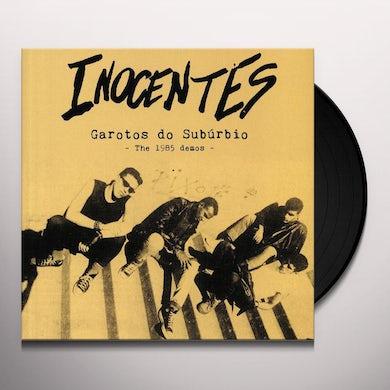 Inocentes GAROTOS DO SUBURBIO: 1985 DEMOS Vinyl Record