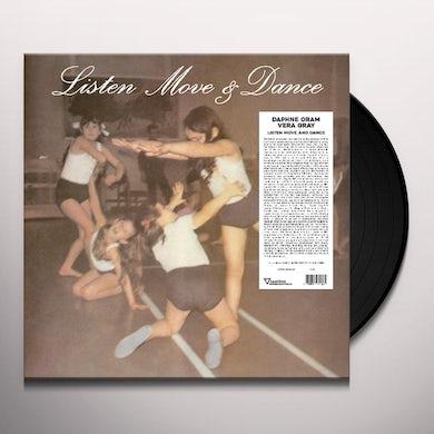 Daphne Oram LISTEN MOVE & DANCE Vinyl Record