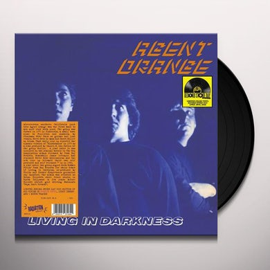 Agent Orange LIVING IN DARKNESS Vinyl Record