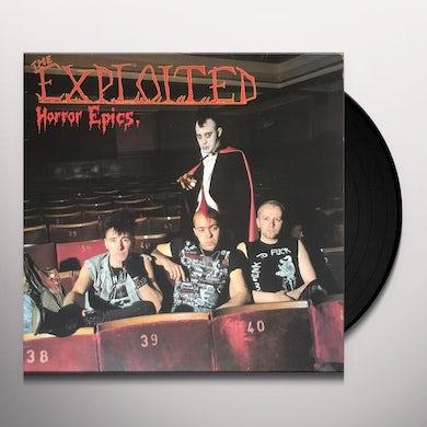The Exploited HORROR EPICS Vinyl Record
