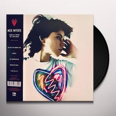 Meg Myers THANK U 4 TAKING ME 2 THE DISCO I'D LIKE 2 GO HOME Vinyl Record