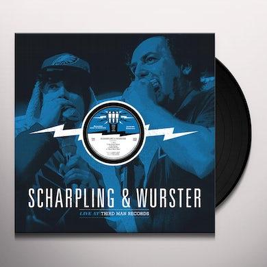 Scharpling & Wurster LIVE AT THIRD MAN RECORDS Vinyl Record
