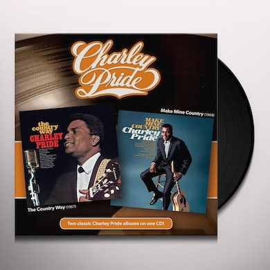 Charley Pride Country Way/Make Mine Country Vinyl Record