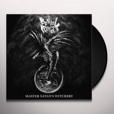 Bestial Raids MASTER SATAN'S WITCHERY Vinyl Record