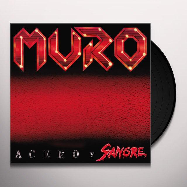 MURO ACERO Y SANGRE Vinyl Record