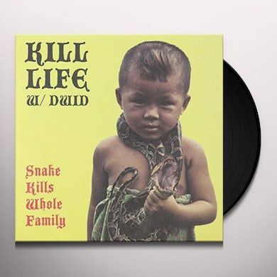 Dwid Kill Life / Hellion SNAKE KILLS WHOLE FAMILY Vinyl Record