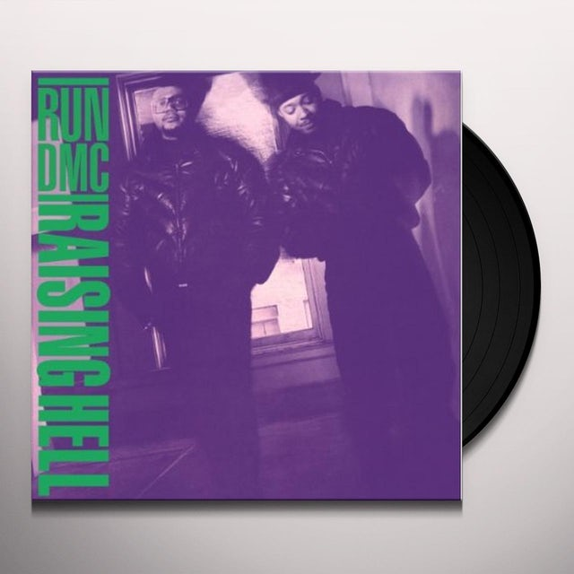 Run DMC RAISING HELL Vinyl Record