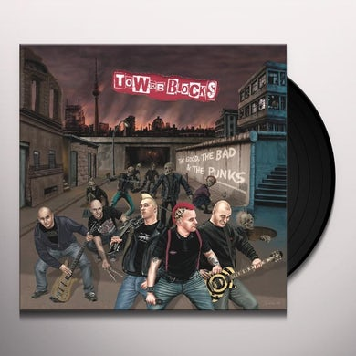 Towerblocks GOOD THE BAD & THE PUNKS Vinyl Record - Picture Disc