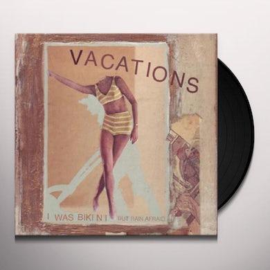Vacations WAS BIKINI/BUT RAIN Vinyl Record