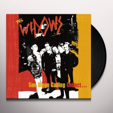 Widows SAN DIEGO CALLING COLLECT Vinyl Record