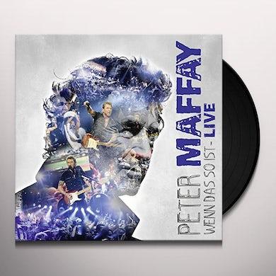 Peter Maffay WENN DAS SO IST-LIVE Vinyl Record