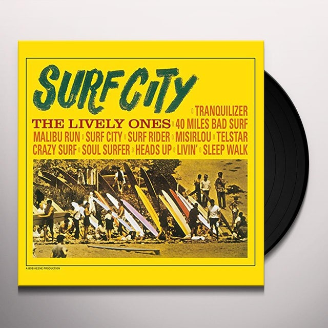 LIVELY ONES SURF CITY (Vinyl)