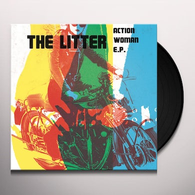The Litter ACTION WOMAN EP Vinyl Record
