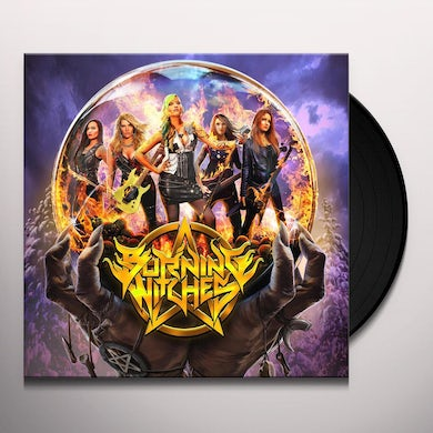 BURNING WITCHES Vinyl Record