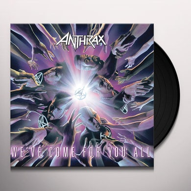 Anthrax WE'VE COME FOR YOU ALL Vinyl Record