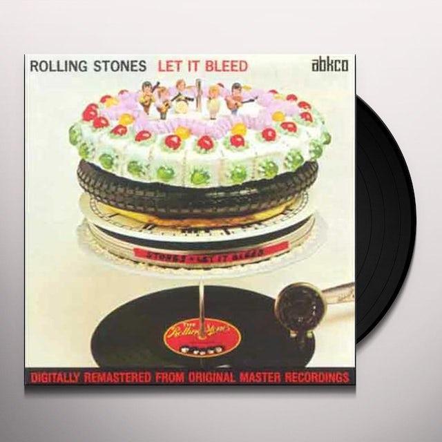 The Rolling Stones LET IT BLEED Vinyl Record