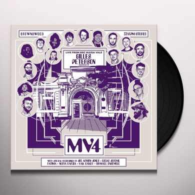 Various Artists Gilles Peterson Presents: MV4 Vinyl Record