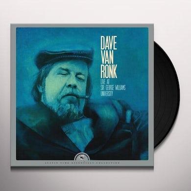 Dave Van Ronk Live at Sir George Williams University Vinyl Record