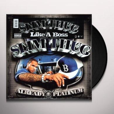 Slim Thug LIKE A BOSS (X4) Vinyl Record