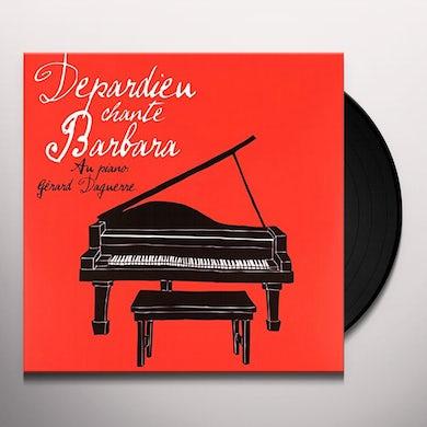 Gerard Depardieu DEPARDIEU CHANGE BARBARA Vinyl Record